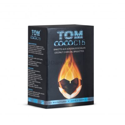 Tom Cococha Blue Flat 1Kg Natural Charcoal