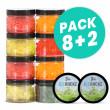 Pack Ice Rockz 8+2 gratuits