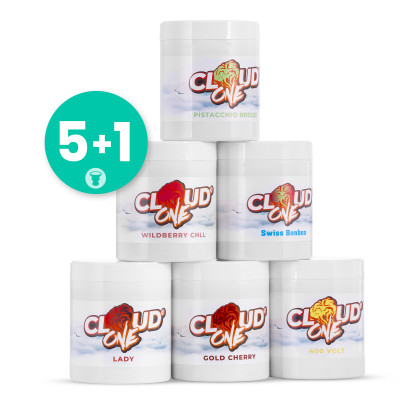 Pack Cloud One 5 +1 gratuit