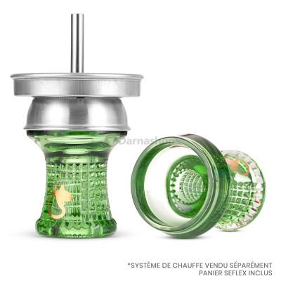 Dschinni Nero Glass Bowl