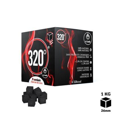 Charbon 320° Cube 1Kg